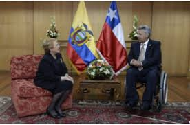 Resultado de imagen para chile y ecuador aliados