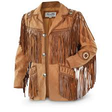 scully hand laced bead trim fringe western coat men s