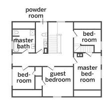 Simple Small House Floor Plans  Simple One Story House Plans 1 Simple Floor Plan