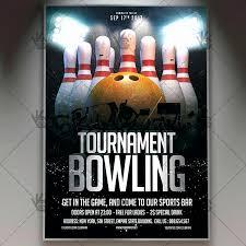 Bowling Fundraiser Flyer Template Best Of Bowling Fundraiser Flyer
