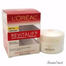 l paris revitalift anti wrinkle firming day cream for women 1 7 oz
