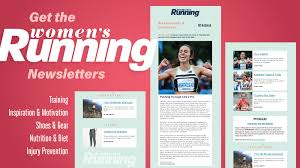 News Letters Womens Running Newsletters