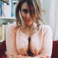 Women pressing boobs images