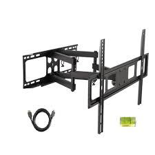 inland 37 in 80 in lcd led full motion tv wall mount