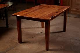 knotty alder dining table