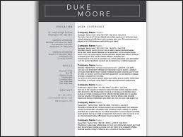 Creative Resume Templates For Mac Classy Free Resume Templates For Macbook Pro From Resume Templates Free