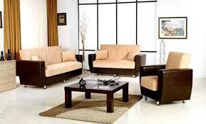 dilan dual colored fabric sofa set with