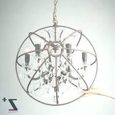 metal orb chandelier uk sphere attractive with crystals whole regarding black metal orb chandelier