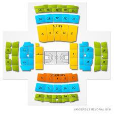 Memorial Gym Seating Chart Vanderbilt Commodores Ncaa Basketball Tickets