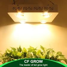 Cree Cxb3590 Grow Light 600w Us 517 79 9 Off Dimmable Cree Cxb3590 400w Cob Led Grow Light Full Spectrum 48000lm Hps 600w Growing Lamp Indoor Plant Growth Lighting Panel In