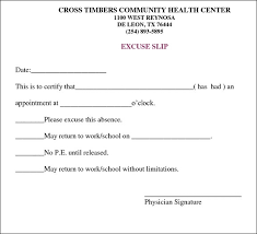 Best Photos Of Printable Doctors Note For Work Template With