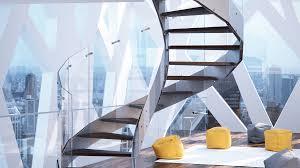 News executive stairs