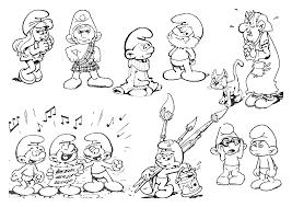 Schtroumpfs 190 Dessins Anim S Coloriages Imprimer