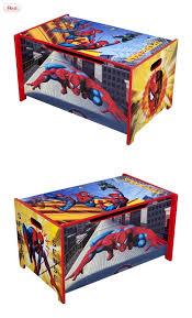 delta enterprise spiderman toy box tb84816sm features marvel spiderman toy box featuring ample space for storage meets all jpma safety standards