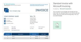 Microsoft Office Templates Invoices Best Templates For Microsoft Office