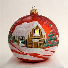 Hand Decorated Christmas Balls Hand Painted Christmas Ornaments Hand Painted Christmas Ornament 35