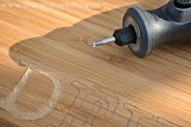 diy engraved wood