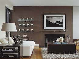 Painting Accent Walls In Living Room Blue Paint On The Wall Accent Wall Ideas For Living Room Brown