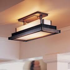 kitchen lighting fixtures. flush mount kitchen lighting with ceiling light fixtures also yellow fluorescent bulbs across interior decorative columns e