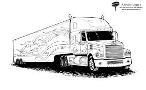 Camions Coloriages Des Transports Page 3