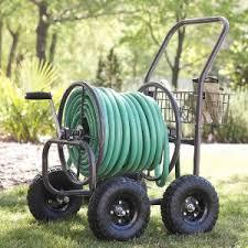 garden hose caddy. Liberty Garden Products 871-1 4-Wheel Hose Reel Cart Caddy A