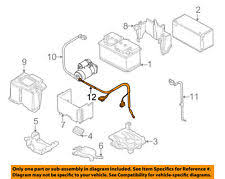 volkswagen no warranty car & truck battery cables & connectors ebay car battery cables and connectors at Car Battery Wiring Harness