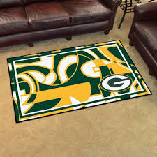 nfl green bay packers 4 x6 rug