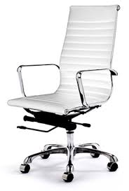 eames style office chairs. Retro Eames Style Office Chair (White) Chairs