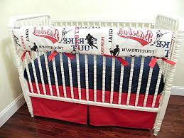 st louis cardinals bedding st cardinals baby bedding set designs