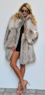 fox furs arctic royal saga fox fur coat