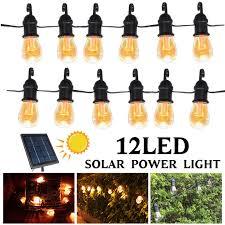 8 5m outdoor string lights solar