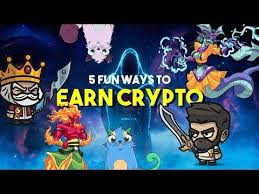 While you play we will be rewarding every second of your. 5 Fun Ways To Earn Crypto Playing Crypto Games Youtube Free Money Hack Free Coupons By Mail Earnings