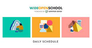 daily plan for grades 6-8   wide open school