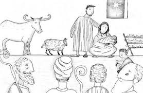 Jesus Storybook Bible Coloring Page Advent By Sofia Soruco Holzmann