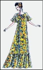 Muumuu Pattern Magnificent Amazon Hawaiian V Neck Muumuu Dress Sewing Pattern 48 Arts