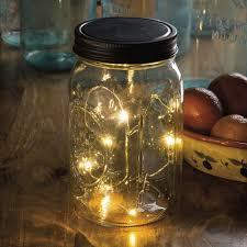 lighting jar. Micro Light Mason Jar Lid Lighting