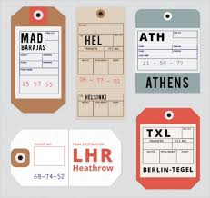 21 Luggage Tag Designs Psd Vector Eps Jpg Download