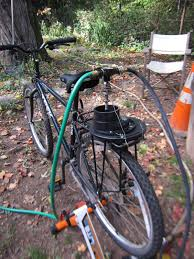 Bicycle Water Pump Design Commmunity Gardening Bicycle Powered Water Pump For