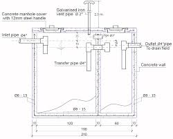 Design Of Septic Tank For 200 Users Septic Tank Design And Construction