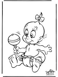 Baby 4 Kleurplaten Baby