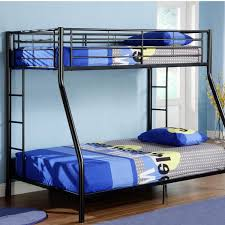 we twin over full metal bunk bed in black black metal bunk bed2 black