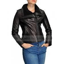 shawl collar asymmetrical black leather jacket womens zoom shawl