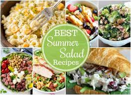the best summer salad recipes wishes
