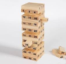 Games With Wooden Blocks Stunning Montez Jenga Wood Blocks Family Pack Fun Game Brown Price In India