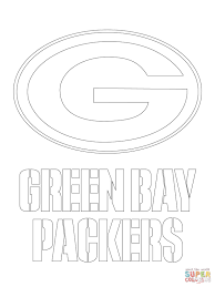 Minnesota Vikings Coloring Pages With Green Bay Packers Logo