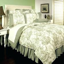 toille duvet covers french blue bedding green duvet cover set toile quilt cover