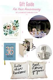 gift guide anniversary gift ideas 1