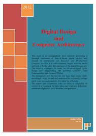 Computer Architecture And Design 5th Edition Pdf Pdf Digital Design And Computer Architecture