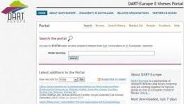 new web portal makes european theses available ku leuven  dart europe is a new web portal that provides access to more than 360 000 theses of more than 500 european universities dart stands for digital archive of