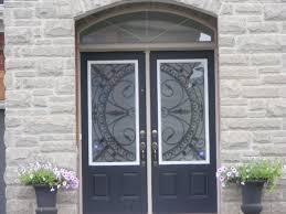 decorative exterior doors entry door glass inserts frosted glass doors bathroom custom etched glass doors